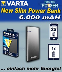 Bild von Varta New Slim Power Bank 6.000 mAh