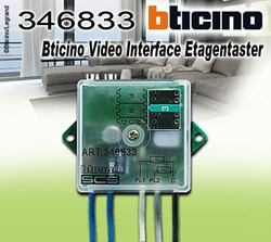Bild von Bticino Video Interface Etagentaster
