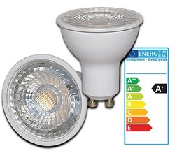 Bild von Rightlite LED-Reflektorlampe / 350 Lumen / 5W / GU10 / 230V / 38° / 3.000K / Warmweiß matt / A+