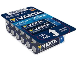 Bild von Varta Mignon 12er Big Box Longlife Power Alkaline LR6 4906 / AA / 1,5V