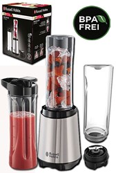 Bild von Russel Hobbs Smoothie Maker Mix & Go Steel / 300 Watt