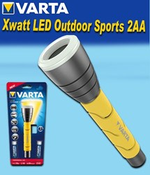 Bild von Varta 5 Watt LED Outdoor Sports Flashlight 2AA mit Handschlaufe