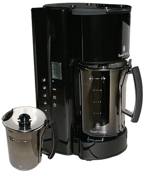 Bild von Kaffeemaschine Glassline Midnight Black