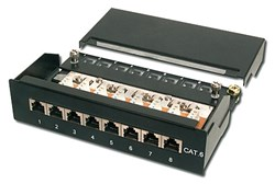 Bild von CAT 6 Patch Panel 8 Port