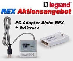 Bild von PC-Adapter Alpha Rex + Software