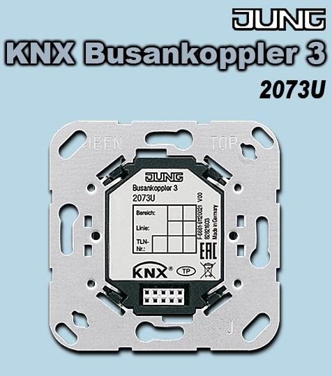 Jung Busankoppler 2073U KNX 3