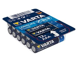 Bild von Varta Micro 12er Big Box Longlife Power Alkaline LR3 4903 / AAA / 1,5V