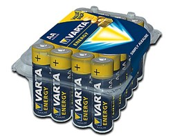 Bild von Varta Energy Alkaline Mignon 24xAA / 1,5V / 24er Clear Value Pack