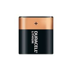 Bild von DURACELL ULTRA PHOTO LITHIUM 6V / 1.400mAh / DL223 / EL223AP/ CR-P2 - 1er Blister
