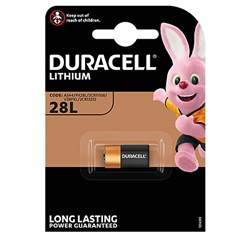 Bild von DURACELL PHOTO LITHIUM 6V / PX28L / 2CR11108 - 1er Blister