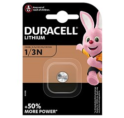 Bild von DURACELL PHOTO LITHIUM 1er Blister / 3,00V / 160mAh / 1/3N/CR11108-BG1